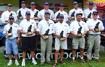2008 TBF of Michigan state team are the Northern Divisional Champions from Michigan's Lake St. Clair