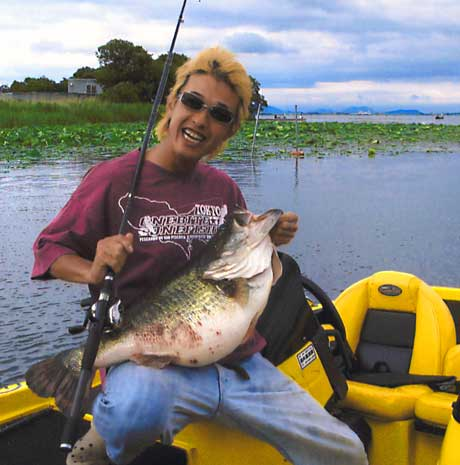 Pending world record bass from Japan Lake Biwa being reviewed by IGFA