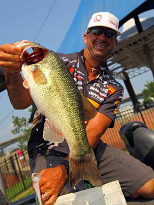 Gerald Swindle secured his 2012 Bassmaster Classic berth with a B.A.S.S. Southern Open win earlier this year