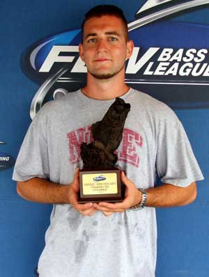 Nick McKelvey of Collegeville, Pennsylvania caught 8 bass weighing 19 pounds, 8 ounces September 11-12 2010 to win the Co-angler Division in the BFL Northeast Division Super Tournament on the Chesapeake Bay