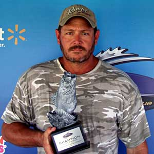 Boater Bill Walker of Mulkeytown, Illinois, won the Aug. 6 BFL Illini Division tournament on the Ohio River to earn $2,985