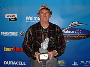 Willie Rentmeister won the Boater division of the March 5 BFL LBL tournament on Kentucky/Barkley lakes