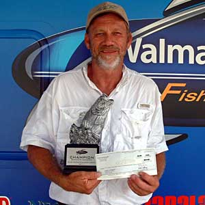 Boater Chris Combess of Cleves, Ohio, won the July 23 BFL Buckeye Division tournament on the Ohio River to earn $3,377