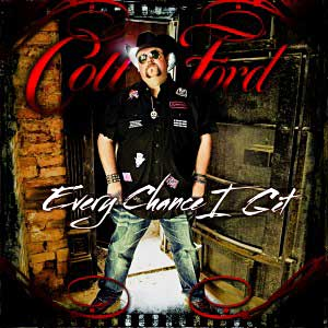 Country music artist Colt Ford's latest hit single is Country Thang from his new album Every Chance I Get