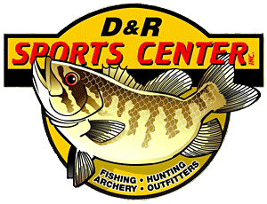 D & R Sports Center in Kalamazoo, Michigan has a huge selection of fishing tackle, outdoors gear and boats
