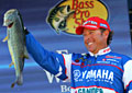 Dean Rojas continues to lead the TroKar Battle on the Bayou at the Toledo Bend Reservoir Elite Series event