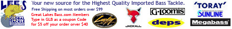 Lees Global Tackle Connection your online source for the Finest Imported Fishing Tackle
