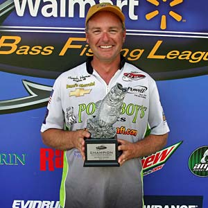 Boater Heath Wagner of Angola, Ind., won the Aug. 27 BFL Michigan Division tournament on the Detroit River to earn $4,021