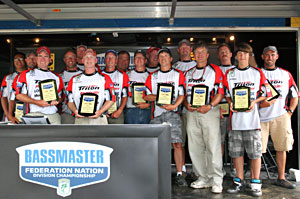 The Iowa Federation Nation won their first Northern Divisional in 20 years September 12, 2011 on the Fort Madison pool of the Mississippi River