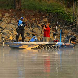 Ish Monroe of Hughson California was happy with his third place finish on West Point Lake and his second top twelve of 2011
