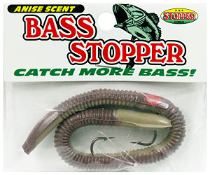 K&E Stopper Lures Bass Stopper worms from Anglers Mart