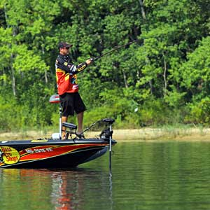 2011 Bassmaster Angler of the Year Kevin VanDam won the postseason tournaments on the Alabama river in 2010 and 2009
