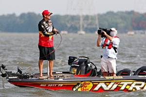 Kevin VanDam is the first qualifier for the 2011 Toyota Trucks All-Star Week postseason competition