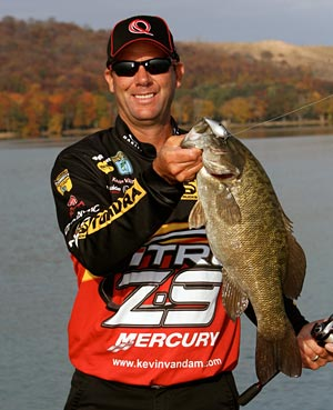 Top professional bass tournament angler Kevin VanDam headlines the 2012 Ultimate Fishing Show Detroit on Friday only