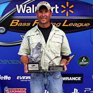 Matthew Hook of Plainwell, Mich., won the co-angler title in the Michigan Division on the St. Clair River to earn $1,757