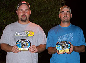Don Koole and Josh Mertz are the 2011 NBAA Division 17 Gull Lake points champions