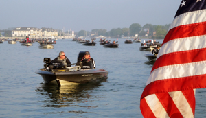 The 2012 Lake St Clair Open bass tournament is this Saturday June 16