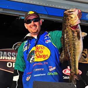 B.A.S.S. Elite Series rookie Ott DeFoe is looking forward to fishing near home for the 2011 Bassmaster Southern Open at Douglas Lake