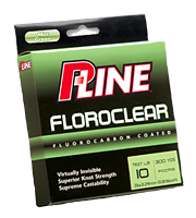 P-Line Floroclear Fishing Line  - 300 Yards - 8 lb