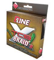 P-Line XTCB 8 braided Spectra fishing line uses 8 strands of fiber during the braiding process making it tight and compact with an ultra smooth finish.