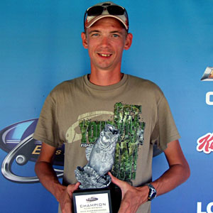 Patrick O'Dell of Windsor, Illinois, was the highest placing co-angler in the Aug. 6 BFL Illini Division event, earning $1,489