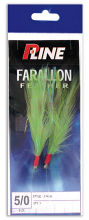P-Line Farallon Feathers quality feather jig rigs