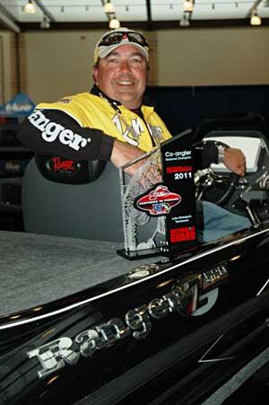 Utah co-angler Rhett Fornoff is the 2011 TBF National Champion Co-angler