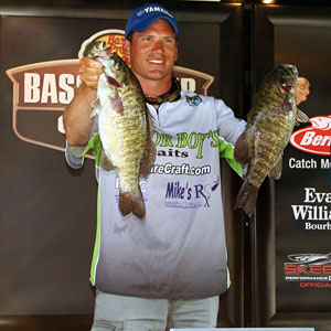 Ryan Said qualified for the 2011 Bassmaster Classic by winning the 2010 Bassmaster Northern Open point title with bass like these Lake Erie smallmouths