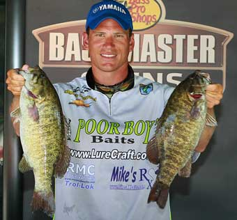Wixom Michigan rookie bass pro Ryan Said is Bassmaster Classic bound as 2010 BASS Northern Opens points champion