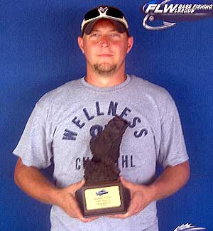 Ryan Taylor of Muncie Indiana won the co-angler division on Saturday with five bass weighing 12-11 to take home $1,489