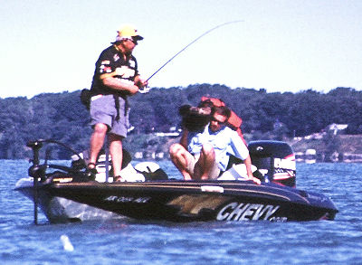 Steve Clapper, 2007 FLW Chevy Open Lake Erie champion, is a recognized expert on safe boating and fishing large lakes.