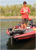 Professional bass angler Shinichi Fukae renews his pro staff partnership with Perfect Outdoor Products Troll Perfect