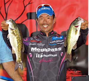 Megabass pro Shin Fukae of Texas believes Lake Ray Hubbard could yield a 30-pound limit this week in the PAA All Star Series event