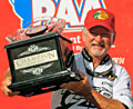 Stacey King leads wire-to-wire to win the 2011 PAA bass tournament on his home lake Table Rock by over a 6 pound margin