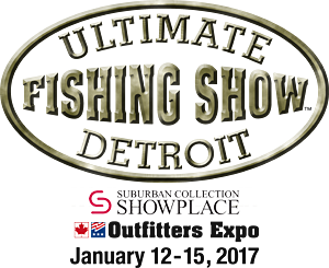 The 2017 Ultimate Fishing Show Detroit is January 12 - 15 at the Suburban Collection Showplace in Novi - the biggest pure fishing show in Michigan!