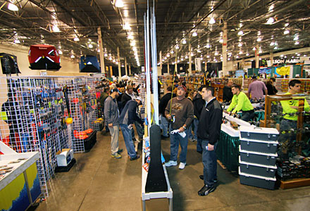 The newly expanded 2019 Ultimate Fishing Show Detroit is the largest pure fishing show in America. Find tons of fishing tackle, boats and gear over the seven football fields of exhibitors during the January 10 to 13 event!