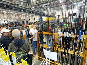 The Ultimate Sport Show is also the ultimate fishing tackle shop during its four day run March 14-17 at DeVos Place in downtown Grand Rapids
