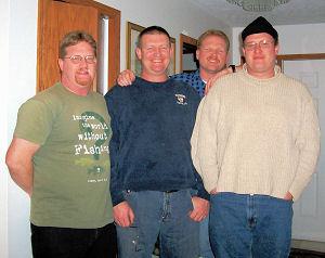 Dan Kimmel and three brothers Dave Jim and Paul