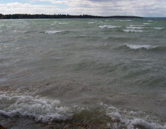 Boating on the Great Lakes can mean Big Waves
