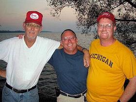 Larry Dekker, Derek Baetz and Dan Kimmel