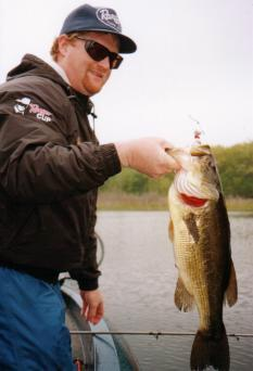Dan Kimmel with Big Largemouth Bass