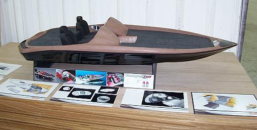 Ranger Boats rangerboats.com Z Comanche clay concept model
