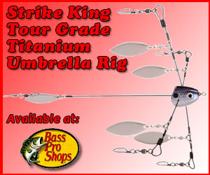 Strike King Tour Grade Titanium Umbrella Rig